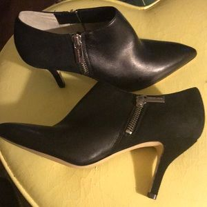 Michael Kors Shoes - Michael Kors leather suede slip on ankle boot